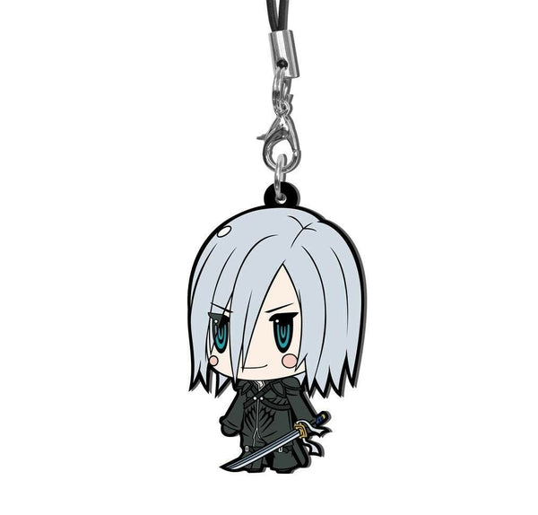 Square Enix Final Fantasy Trading Rubber Strap FF VII 7 EDITION Charm Kadaj NEW