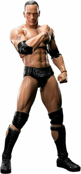Tamashii Nations S.H. Figuarts Dwayne The Rock Johnson WWE Action Figure