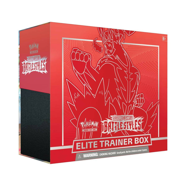 Pokemon tcg Battle Styles Elite Trainer Box Red New Sealed