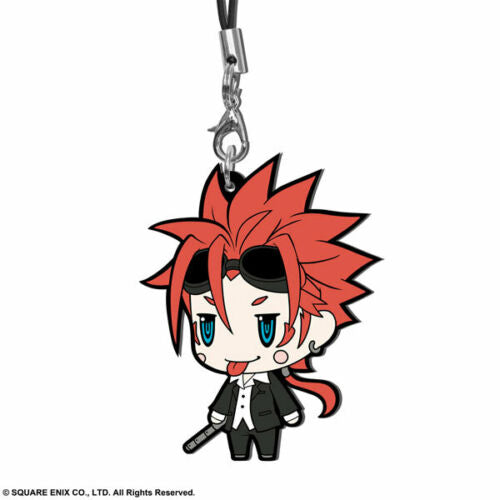 Square Enix Final Fantasy Trading Rubber Strap FF VII 7 EDITION Charm Reno NEW
