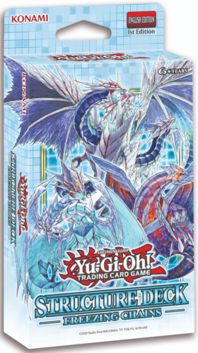 Yu-Gi-Oh Structure Deck: Freezing Chains Sealed English Yugioh