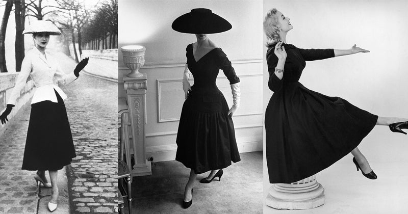 1950s Fashion History: Womenswear