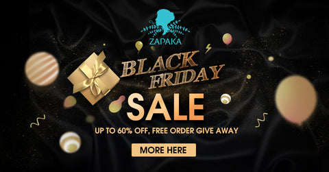 Zapaka Discloses its 2019 Black Friday Sale with up to 60% off