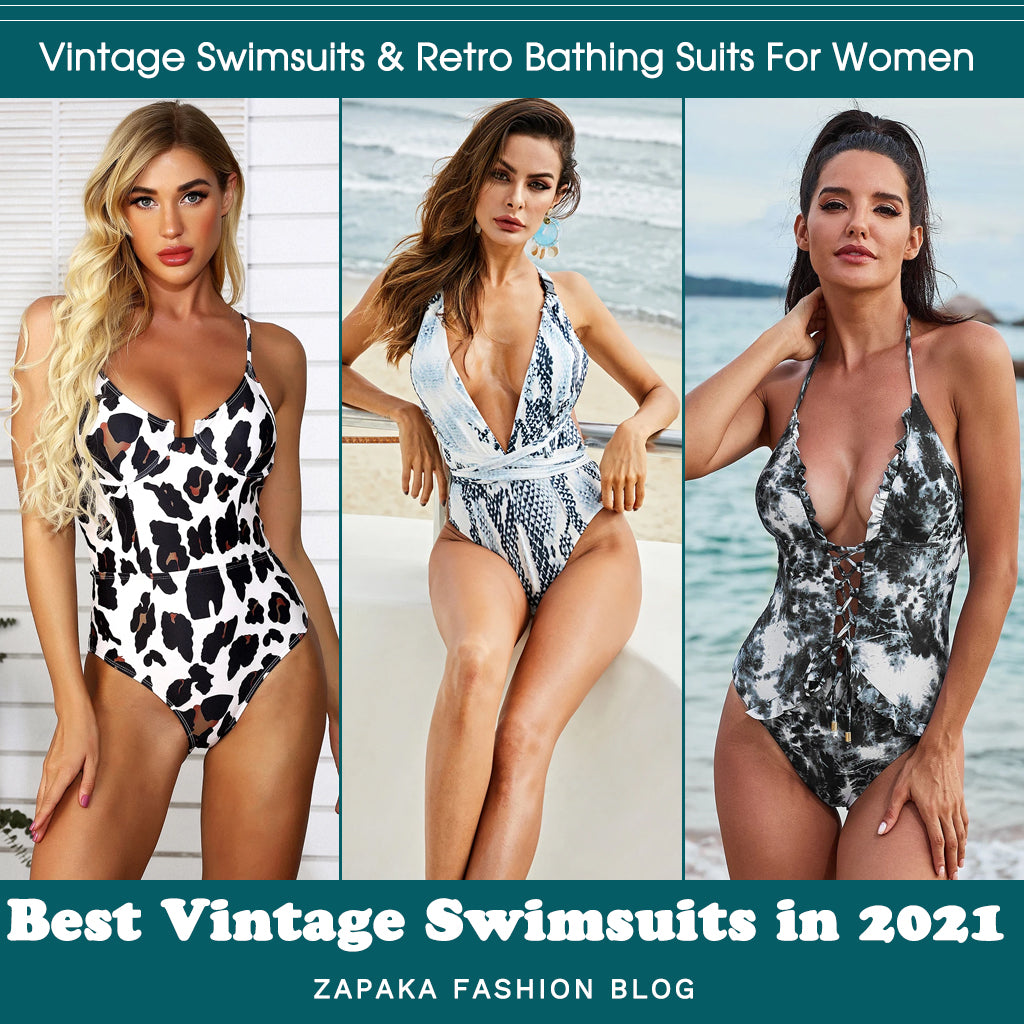 Vintage Swimsuits & Retro Bathing Suits For Women