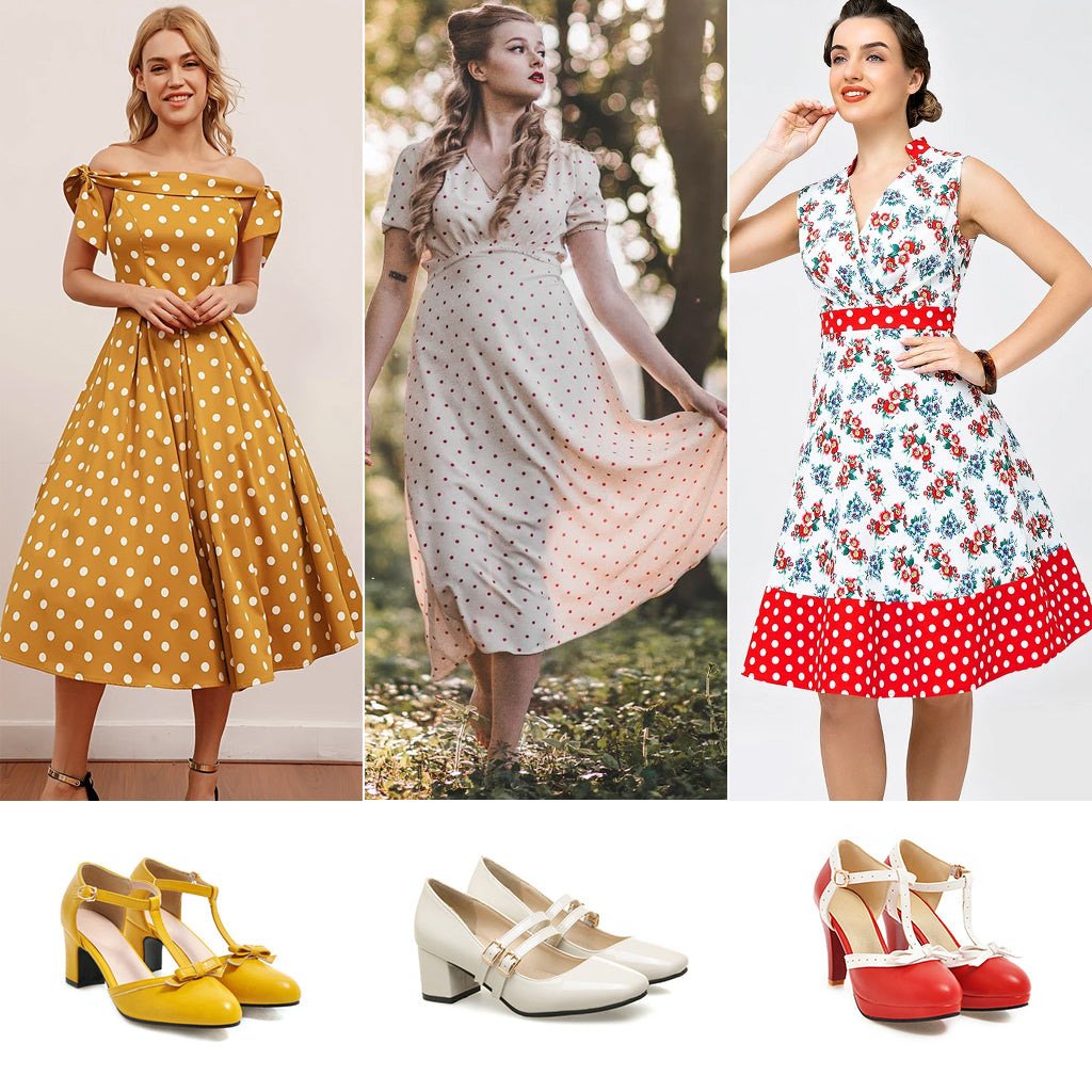 What Shoes Go With The Swing Dresses
