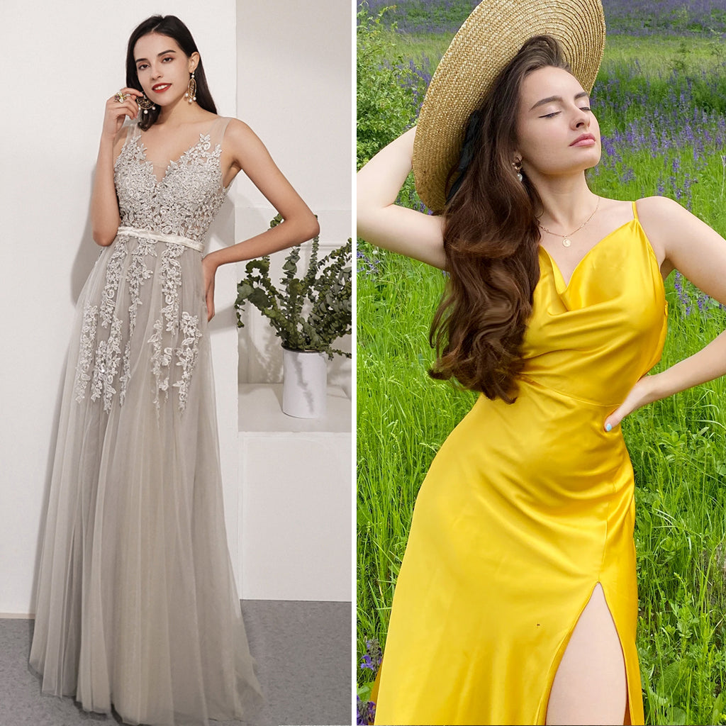 Best types of prom dress for hourglass figure