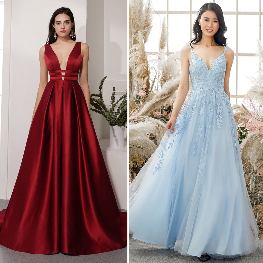 Best types of prom dress for pear shaped body