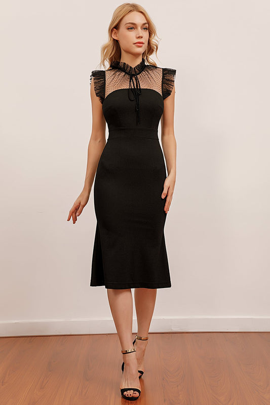 black holiday party dresses