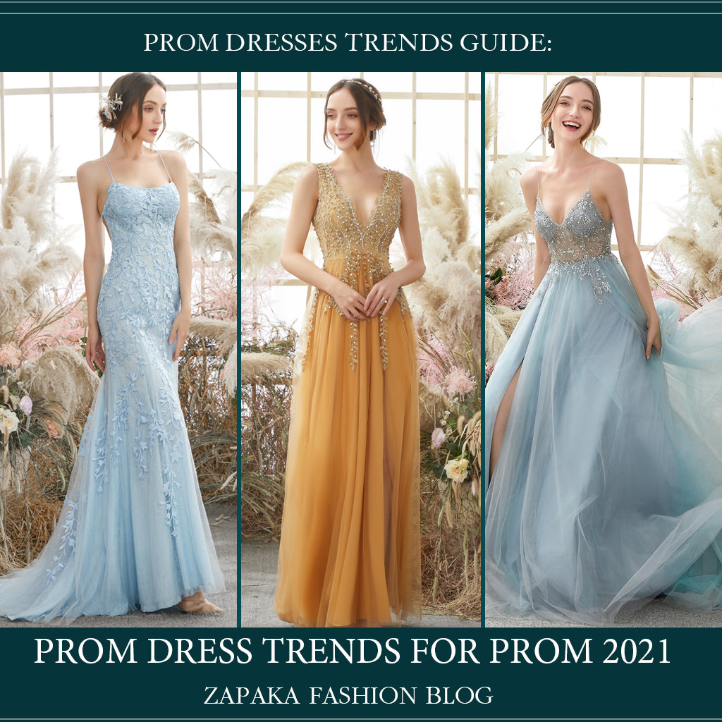 Prom Dresses Trends 2021