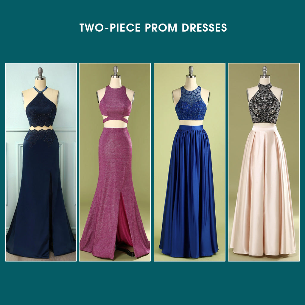 Two Piece Prom Dresses Trends 2021