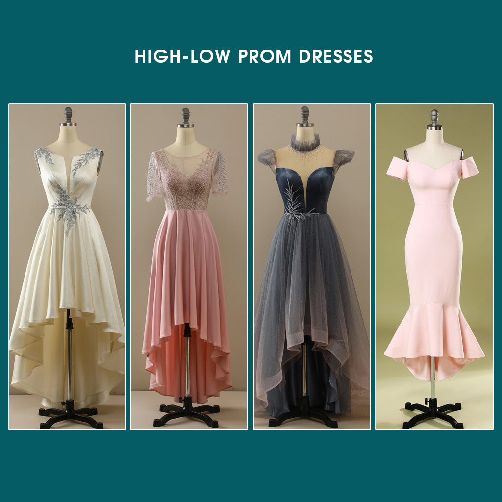 High Low Prom Dresses Trends 2021