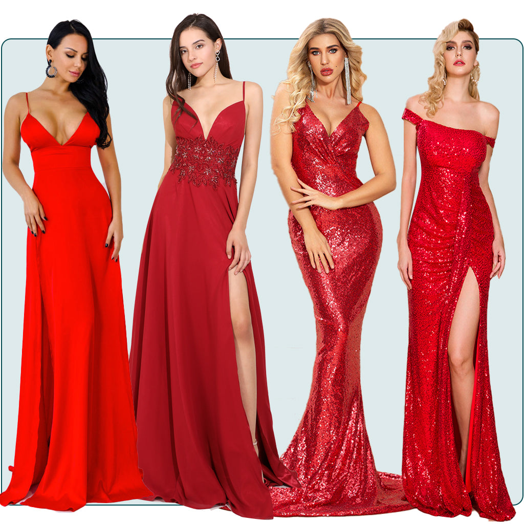 Red Prom Dresses Trends 2021