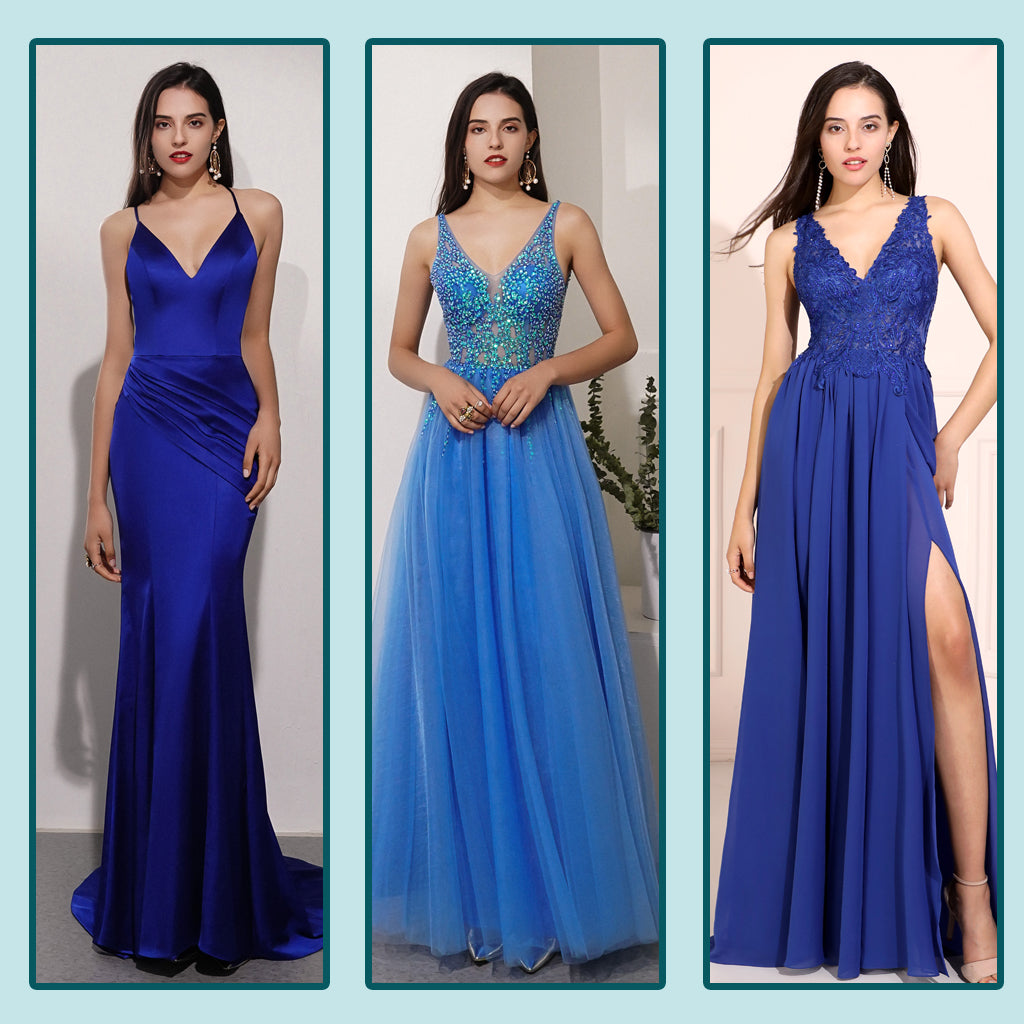 Blue Prom Dresses Trends 2021
