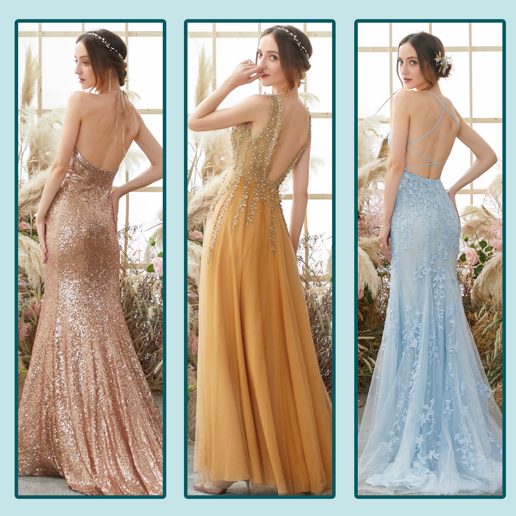 Open Back Prom Dresses Trends 2021