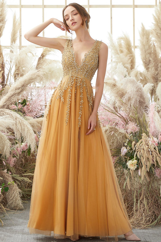 yellow holiday party dresses