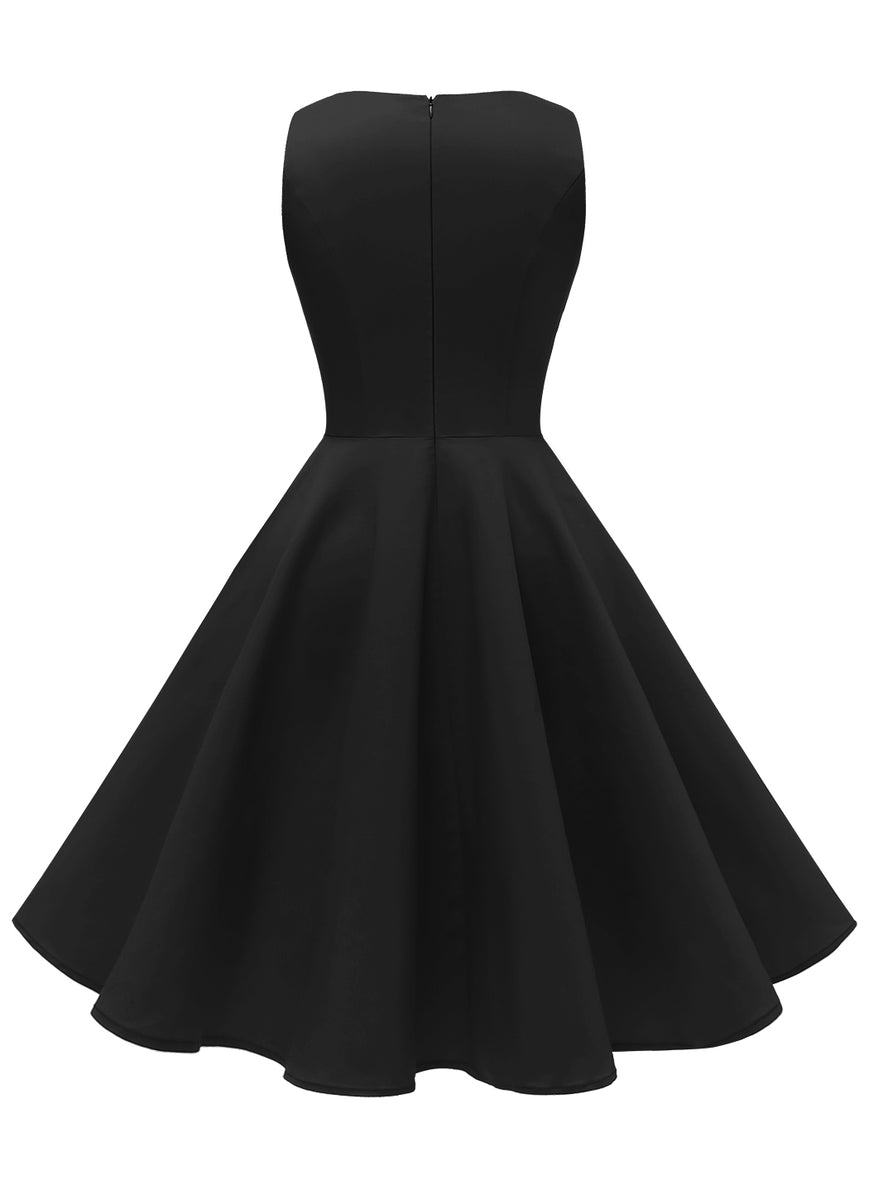 Load image into Gallery viewer, Vintage 1950s Retro Rockabilly Cocktail Party Dress