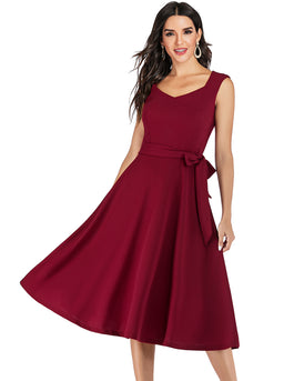 Soft Burgundy Dress