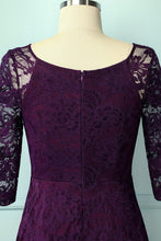 Load image into Gallery viewer, Grape Lace Midi