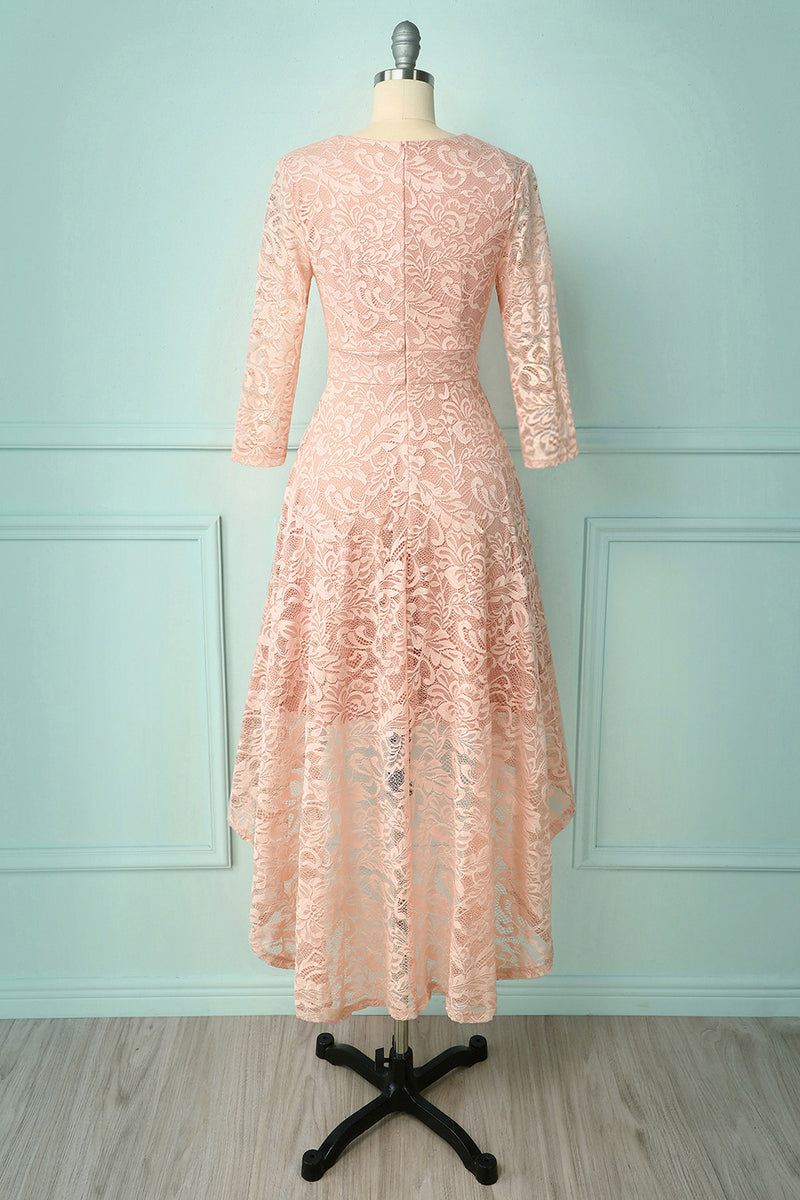 Load image into Gallery viewer, High Low Lace Dress