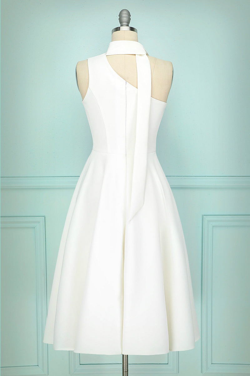 Load image into Gallery viewer, Simple White Dress