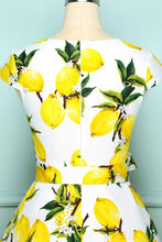 Load image into Gallery viewer, V-neck Lemon Print