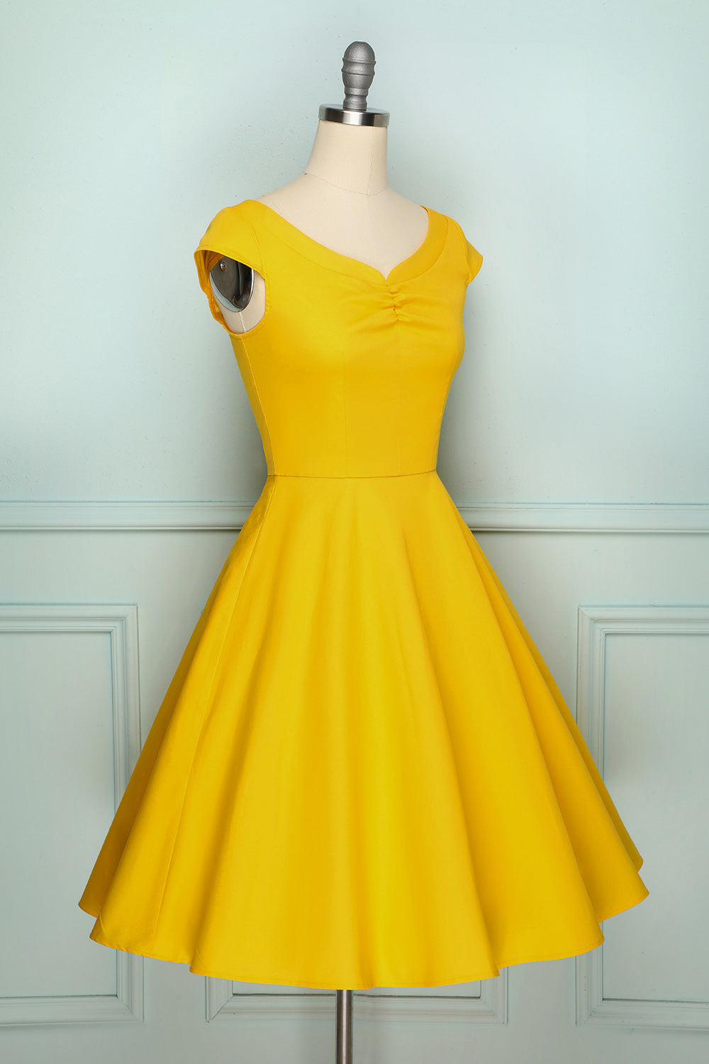 50s Solid Dress