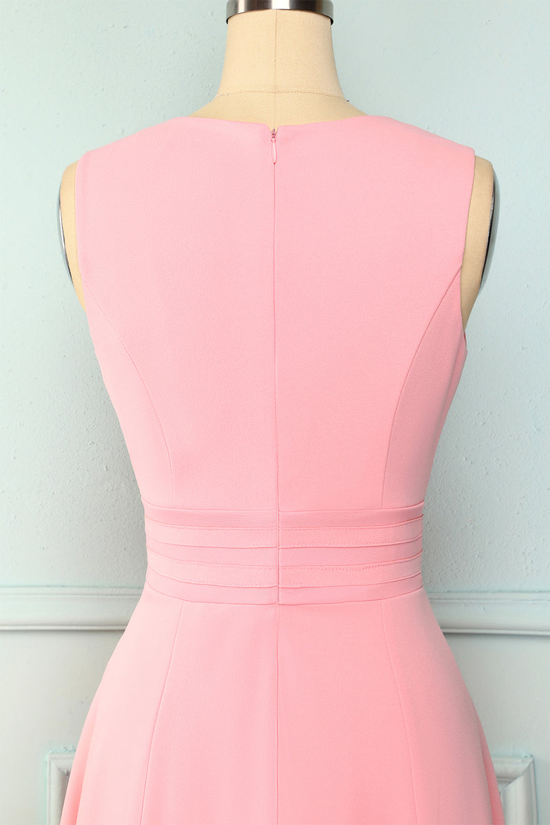 Load image into Gallery viewer, Solid Peach Dress