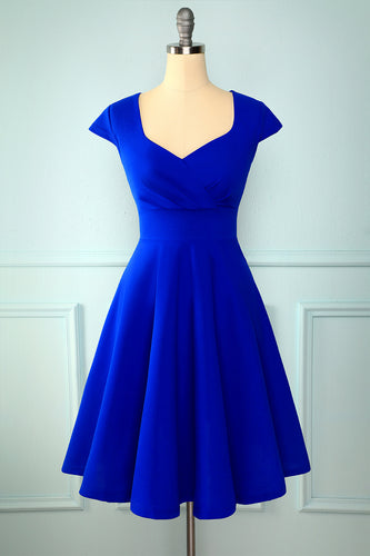 Royal Blue Solid Hoco