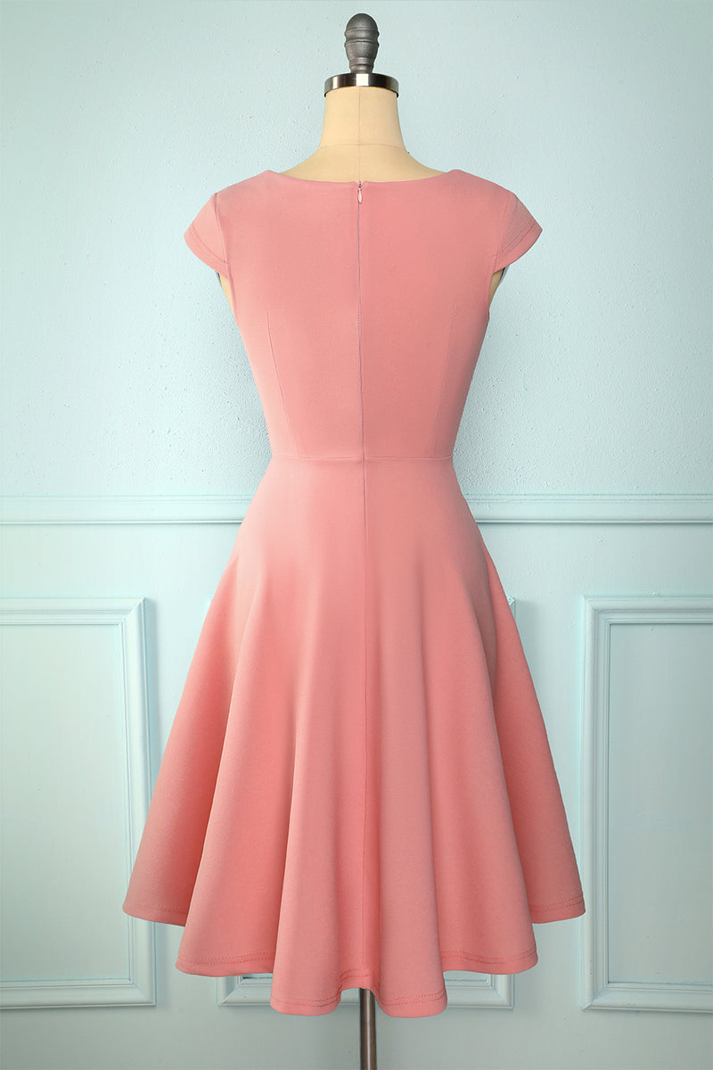 Load image into Gallery viewer, Blush Solid Dress