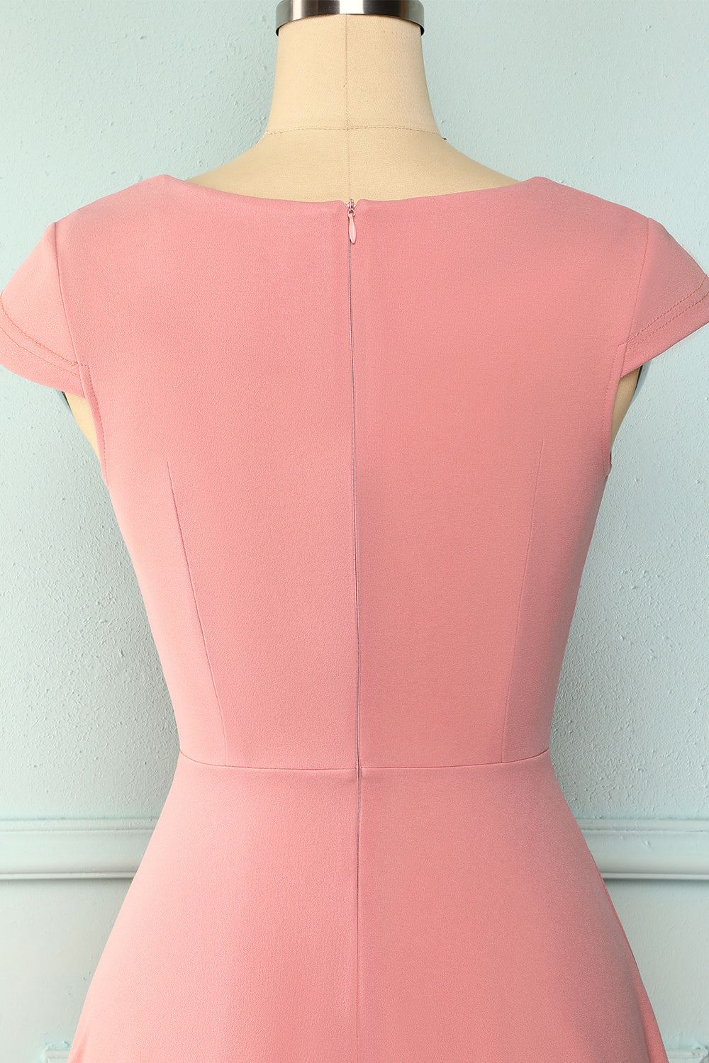 Blush Solid Dress