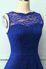 Load image into Gallery viewer, Lace Royal Blue Formal Dress
