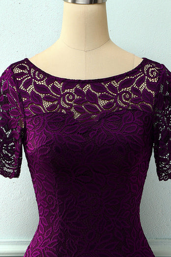 Midi Bodycon Lace Dress
