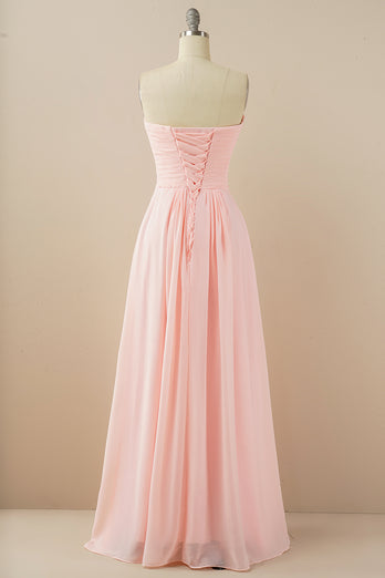 Chiffon Long Bridesmaid Dress