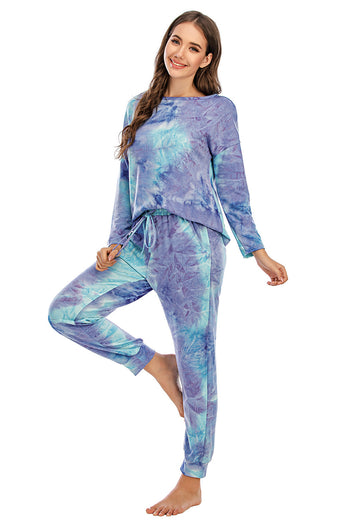 Two Piece Dye Sleepwear