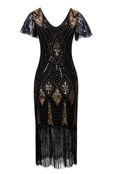 Flapper 1920s Sequins Dress