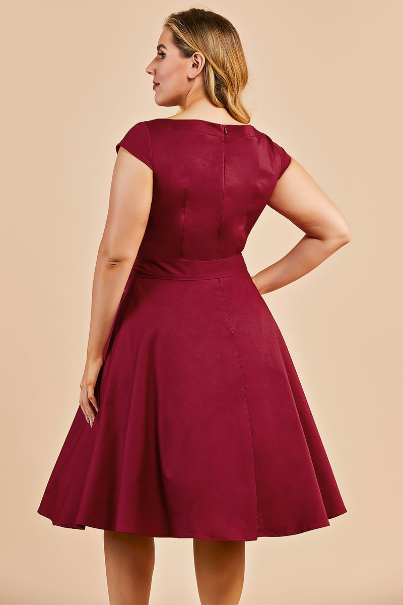 Load image into Gallery viewer, Plus Size Swing Dress
