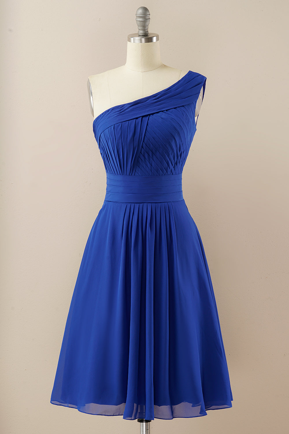 Chiffon One Shoulder Bridesmaid Dress