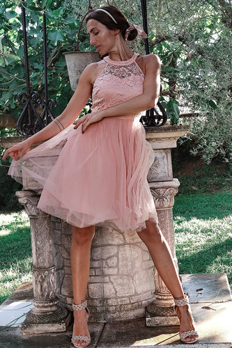 Blush Short Party Dress