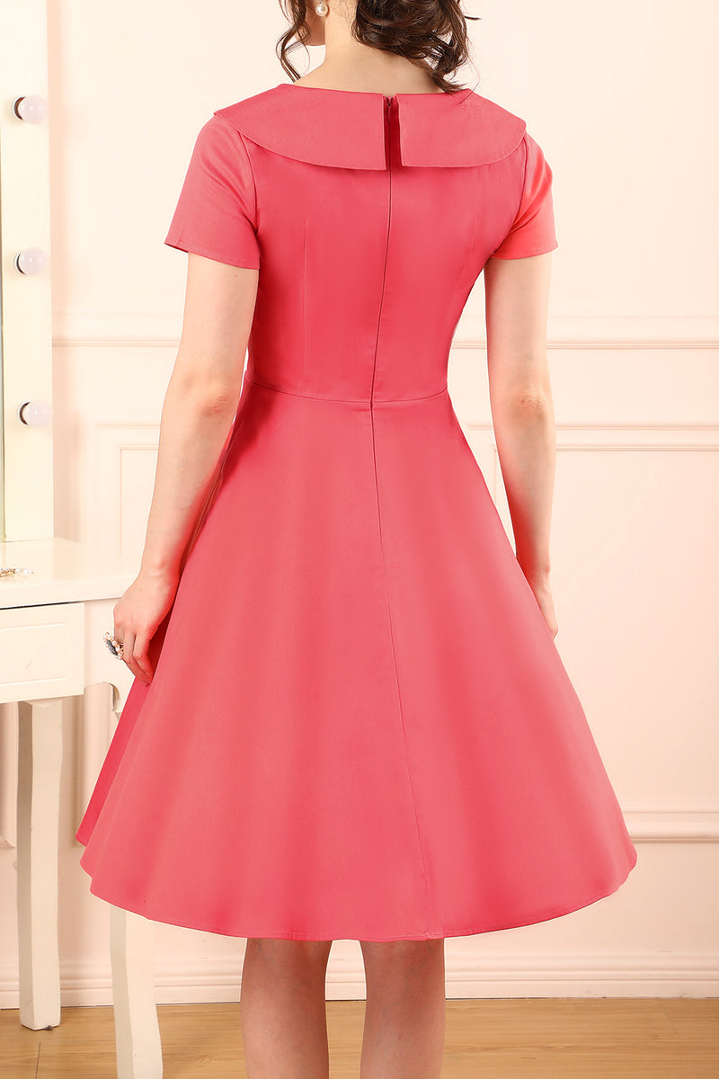 Load image into Gallery viewer, Coral Button Dress