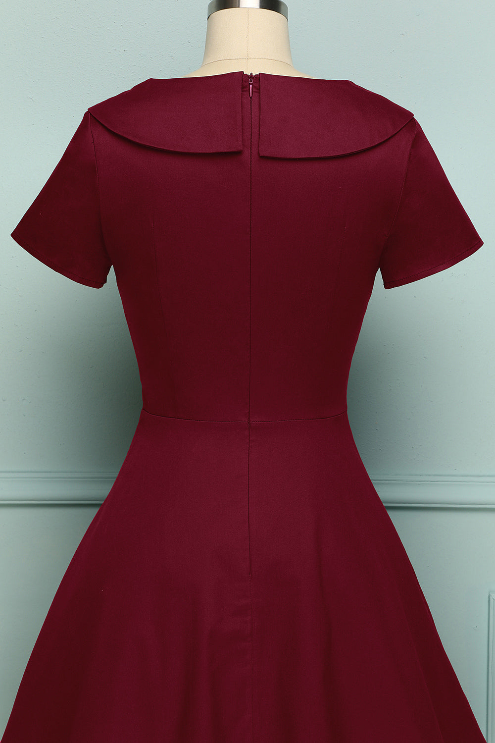 Peter Pans Collar 1950s Dress