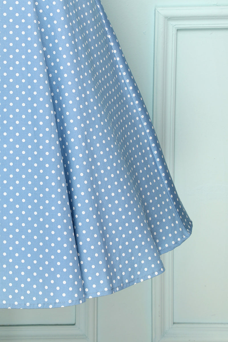 Load image into Gallery viewer, Blue Swing Vintage Dress