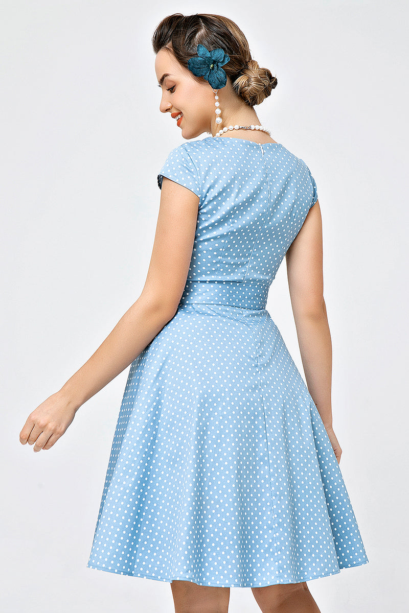 Load image into Gallery viewer, Print Foral 1950s Swing Dress