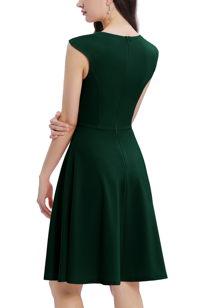Load image into Gallery viewer, Solid Crepe Homecoming Dress