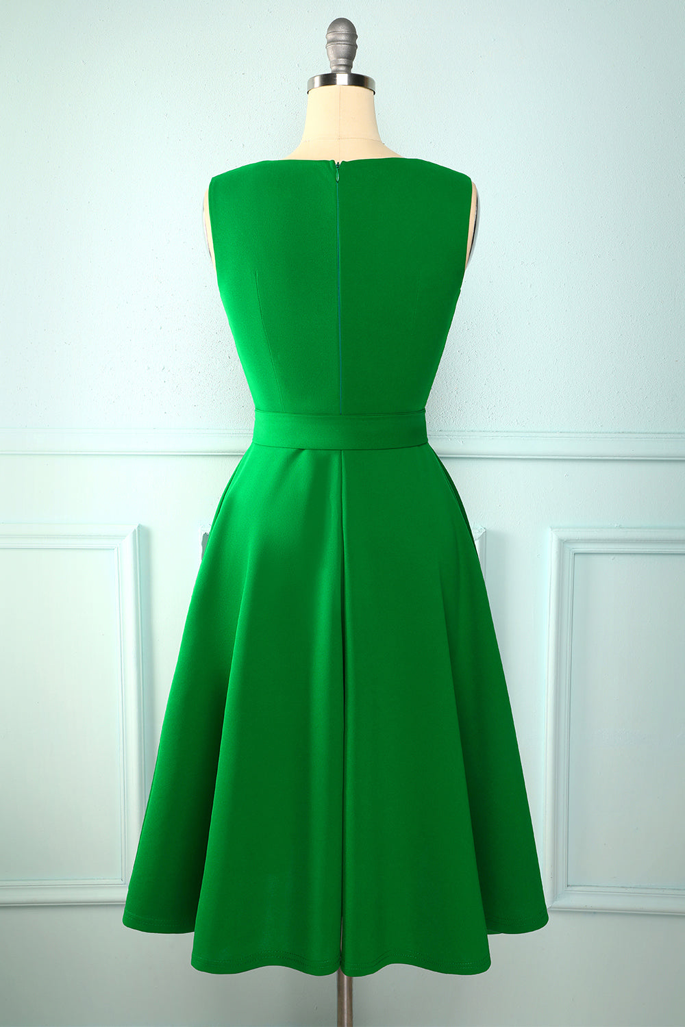 Solid Crepe Homecoming Dress with Sash