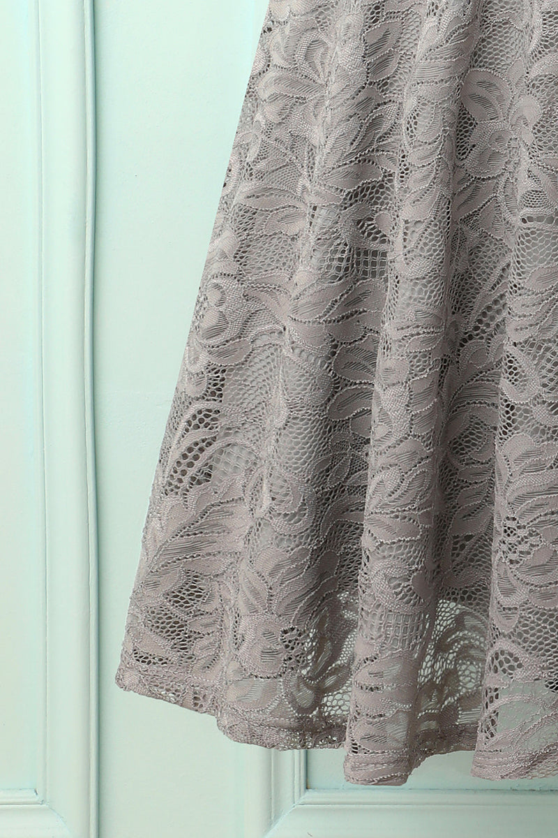 Load image into Gallery viewer, Grey Bridesmaid Lace