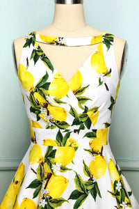 1950s Lemon Dress