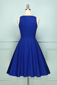 1950s Royal Blue Swing