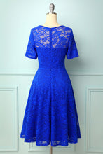 Load image into Gallery viewer, Royal Blue Bridesmaid Lace