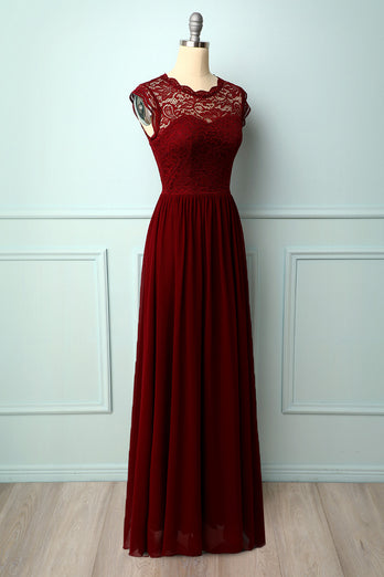 Formal Long Lace Dress
