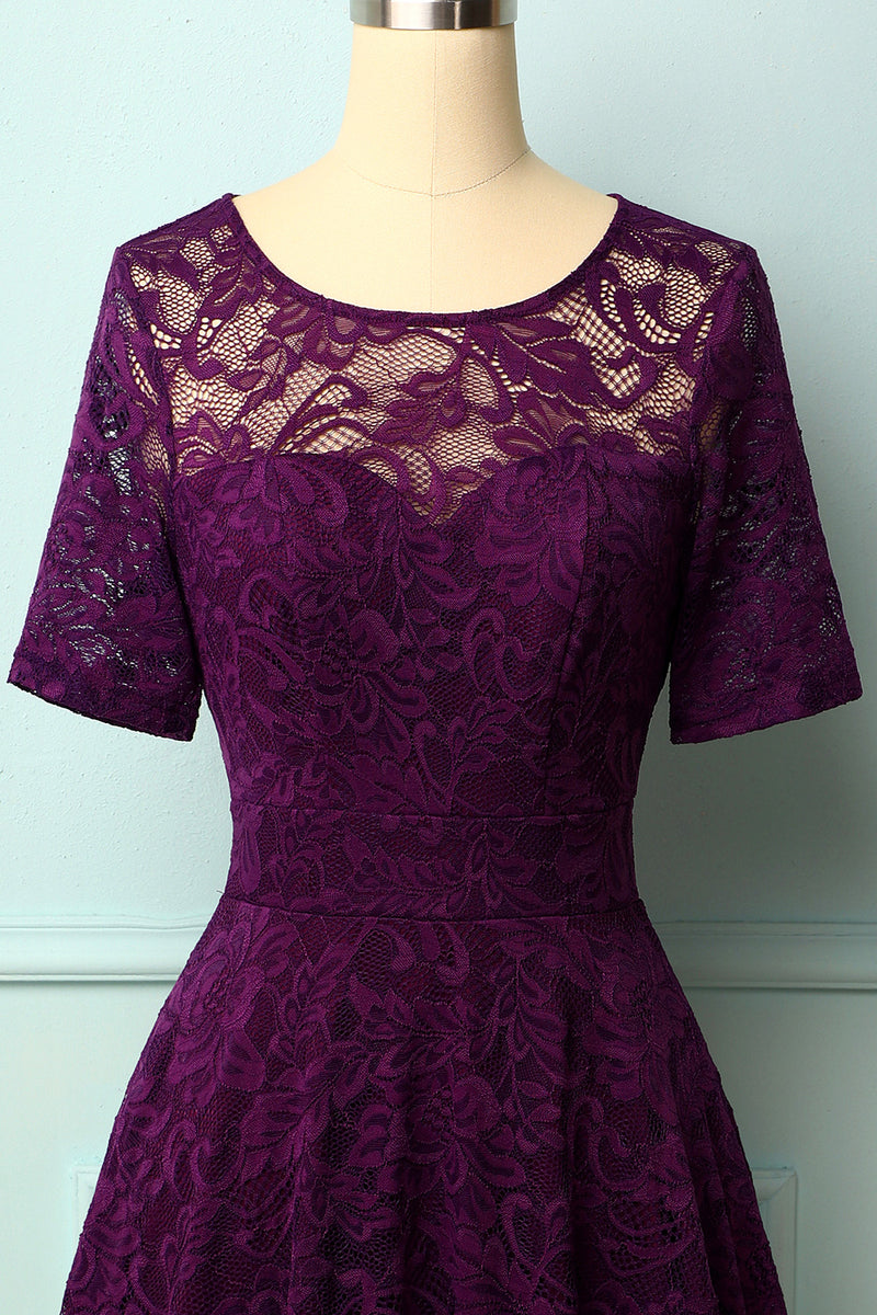 Load image into Gallery viewer, Grape Bridesmaid Lace
